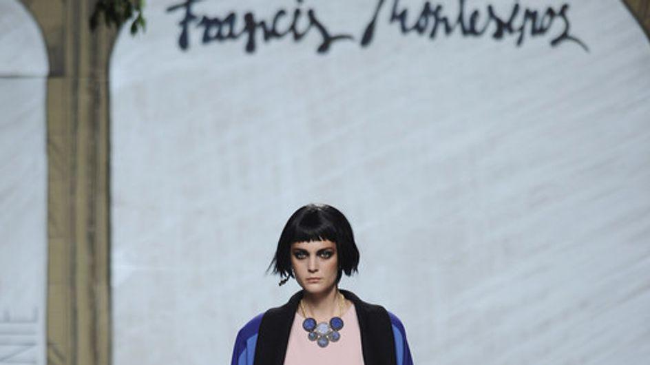 Francis Montesinos - Madrid Fashion Week Otoño Invierno 2013-2014