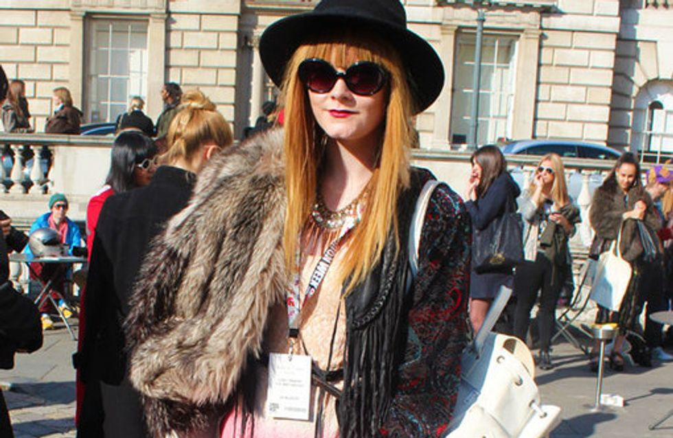 Street Style at LFW autumn/winter 2013 - 2014