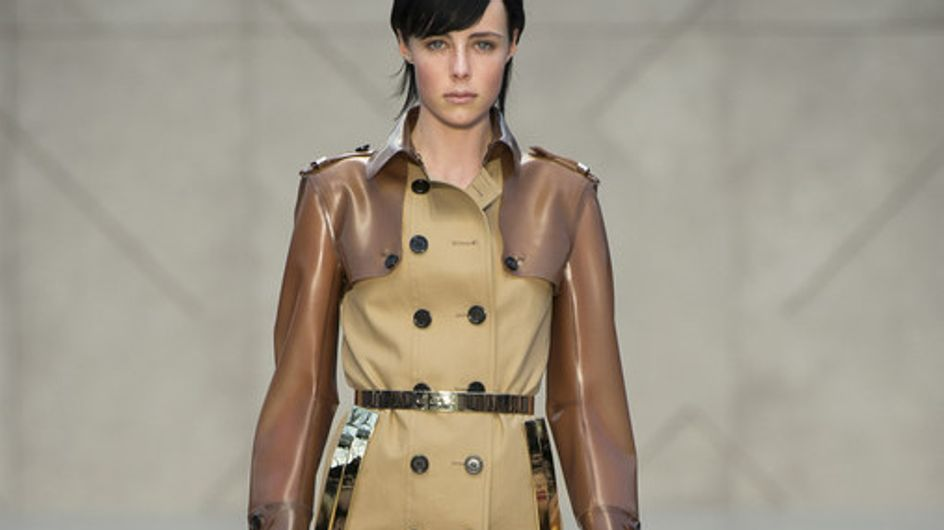 Sfilata Burberry Prorsum London Fashion Week autunno/ inverno 2013 - 2014