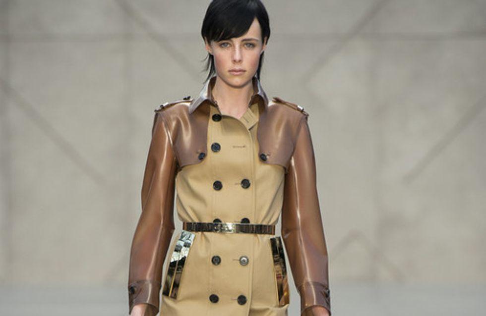 Sfilata Burberry Prorsum London Fashion Week autunno/ inverno 2013 - 2014
