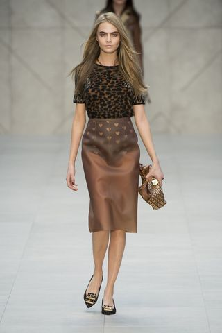 Sfilata Burberry Prorsum London Fashion Week autunno
