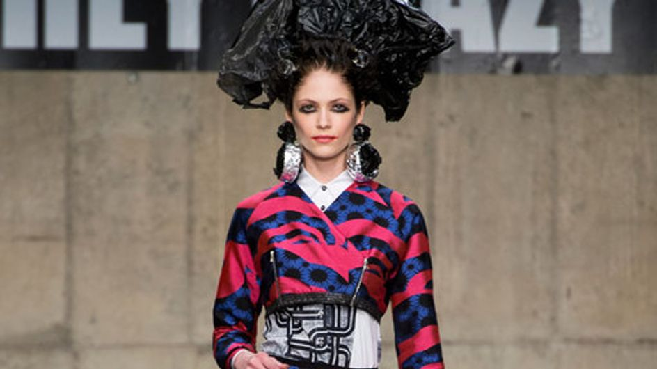 Louise Gray London Fashion Week Autumn Winter 2013 - 2014