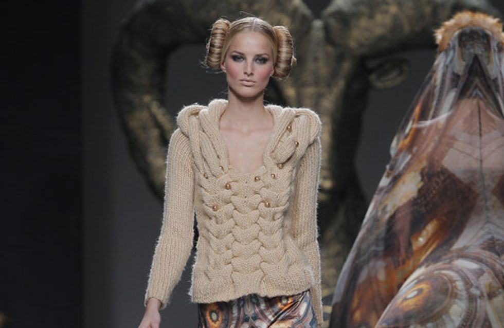 Maya Hansen - Madrid Fashion Week Otoño Invierno 2013-2014