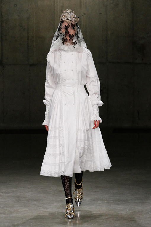 Meadham Kirchhoff London Fashion Week Autumn Winter 2013 - 2014