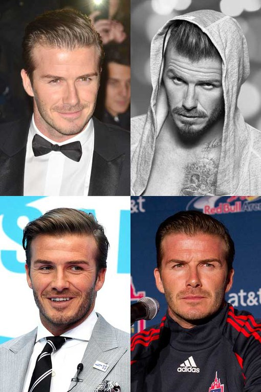 David Beckham: Hot dad, sexy sportsman and fit model