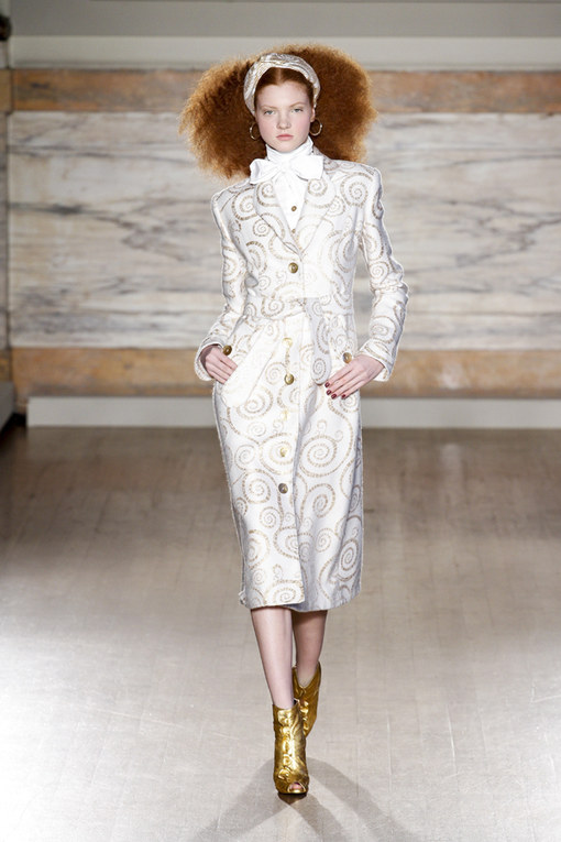 L'Wren Scott London Fashion Week Autumn Winter 2013 - 2014