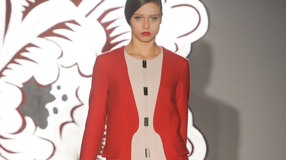 Sfilata Paola Frani Milano Fashion Week autunno/ inverno 2013 - 2014