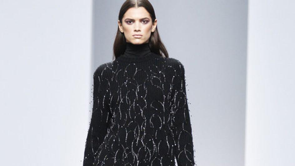 Sfilata Mila Schon Milano Fashion Week autunno/ inverno 2013 - 2014