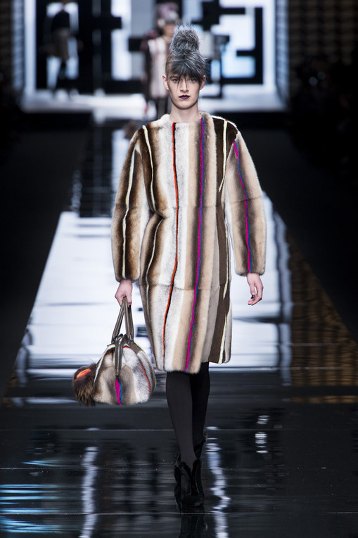 Fendi Milan Fashion Week Autumn Winter 2013 - 2014