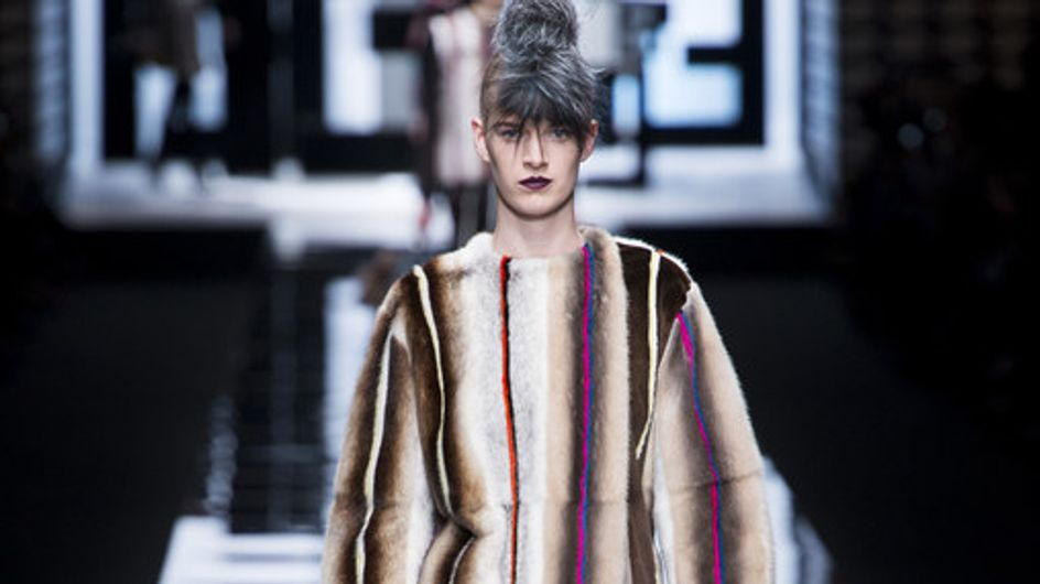 Fendi Milan Fashion Week Autumn Winter 2013 - 2014