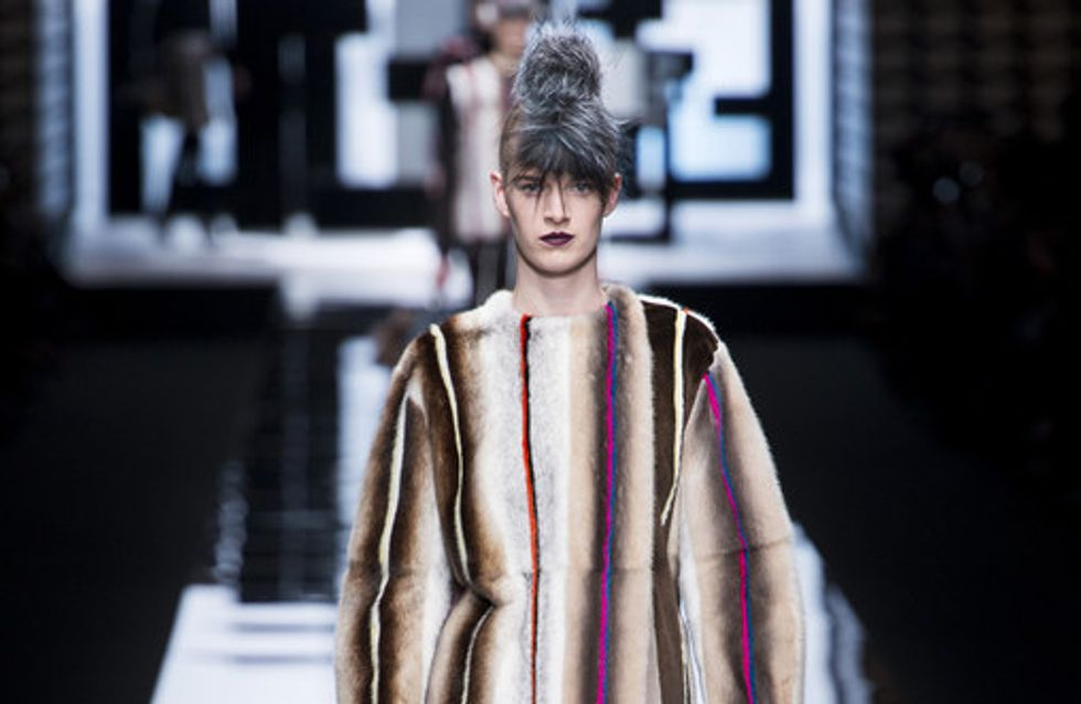 Sfilata Fendi Milano Fashion Week autunno/ inverno 2013 - 2014