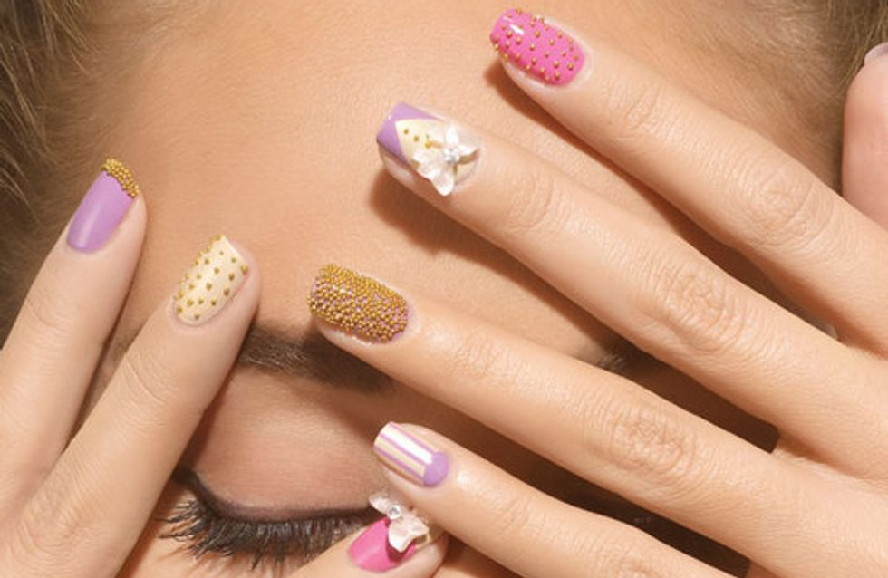 Nagel Design: 120 mal trendige Kunst auf Nägeln