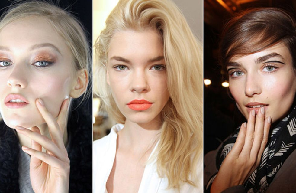 Beauty Trend: le tendenze dalle sfilate A/I 2013-2014