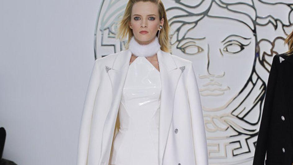 Sfilata Versace Milano Fashion Week autunno/ inverno 2013 - 2014