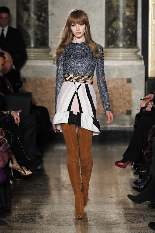 Emilio Pucci Milano Fashion Week autunno/ inverno 2013 - 2014