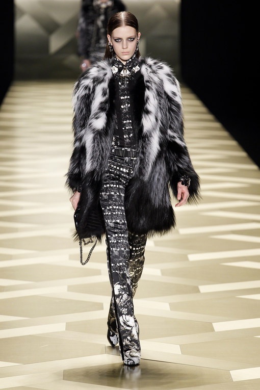 Roberto Cavalli défilé Milan Fashion Week Automne-Hiver 2013-2014
