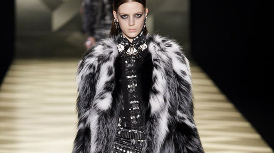 Sfilata Roberto Cavalli Milano Fashion Week autunno/ inverno 2013 - 2014