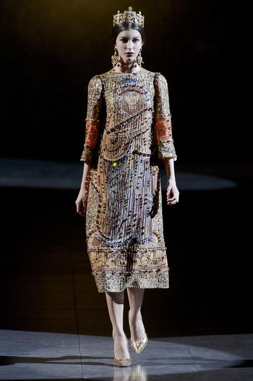 Dolce&Gabbana défilé Milan Fashion Week Automne-Hiver 2013-2014