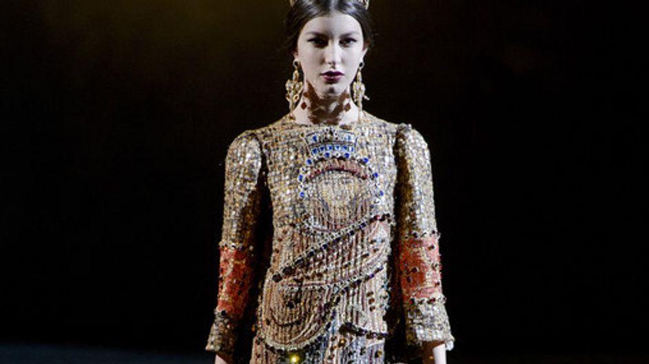 Dolce&Gabbana, un défilé sacré...