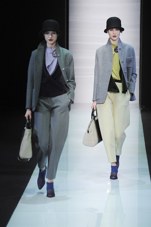 Emporio Armani Milano Fashion Week autunno/ inverno 2013 - 2014