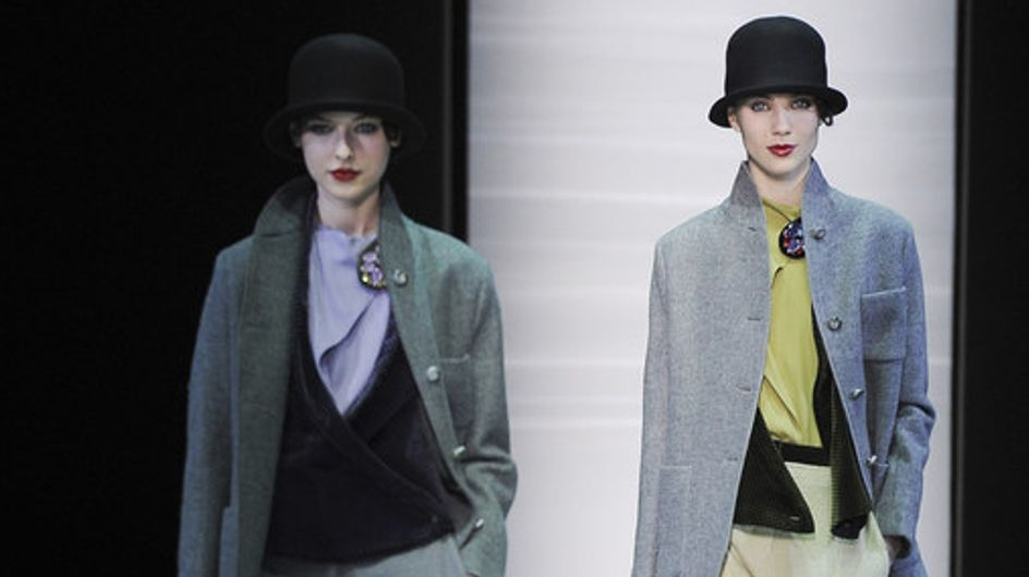 Emporio Armani - Milán Fashion Week Otoño Invierno 2013-2014