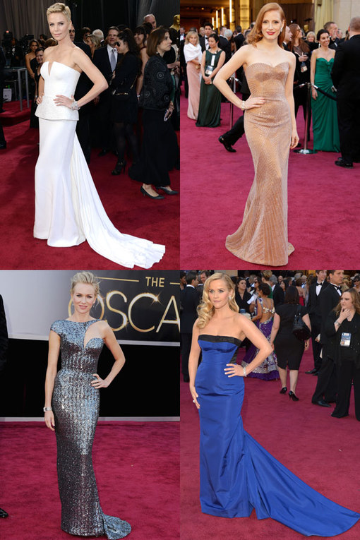 Oscars 2013 dresses