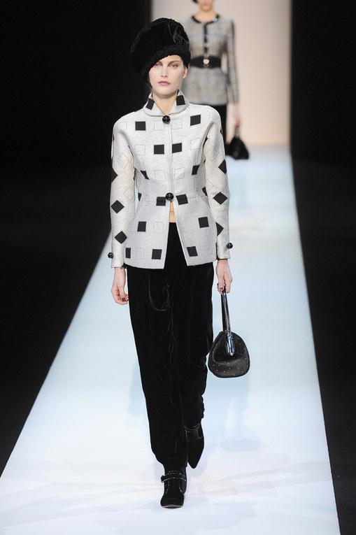 Giorgio Armani - Milán Fashion Week Otoño Invierno 2013-2014