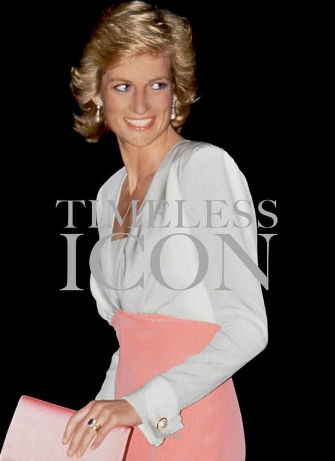 Timeless Icon: il libro fotografico che celebra il mito di Lady Diana
