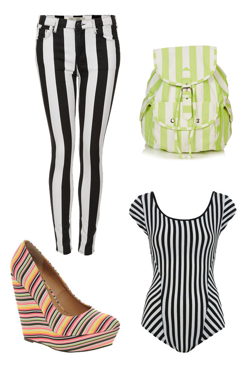 Trendy stripes: 50 Fashion finds