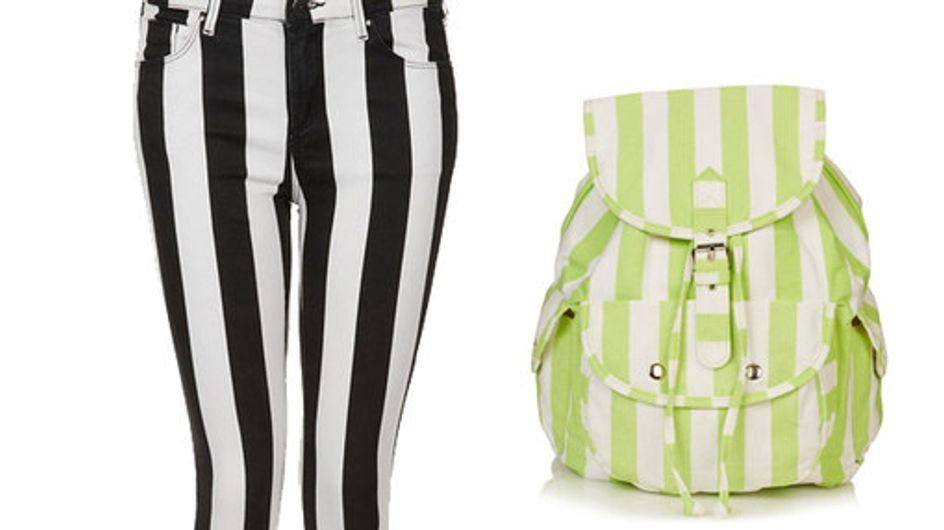 Trendy stripes: 50 Fashion finds