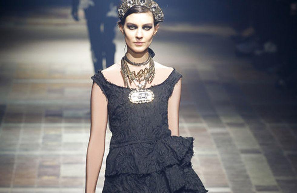 La sfilata Lanvin alla Paris Fashion Week