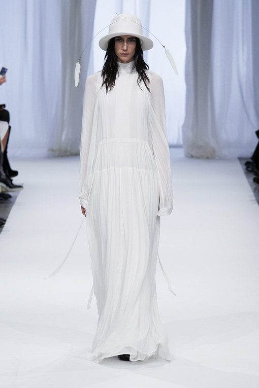 Ann Demeulemeester Paris Fashion Week autunno/ inverno 2013 - 2014