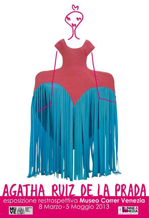Gli abiti di Agatha Ruiz de la Prada in mostra a Venezia per la Festa della donna