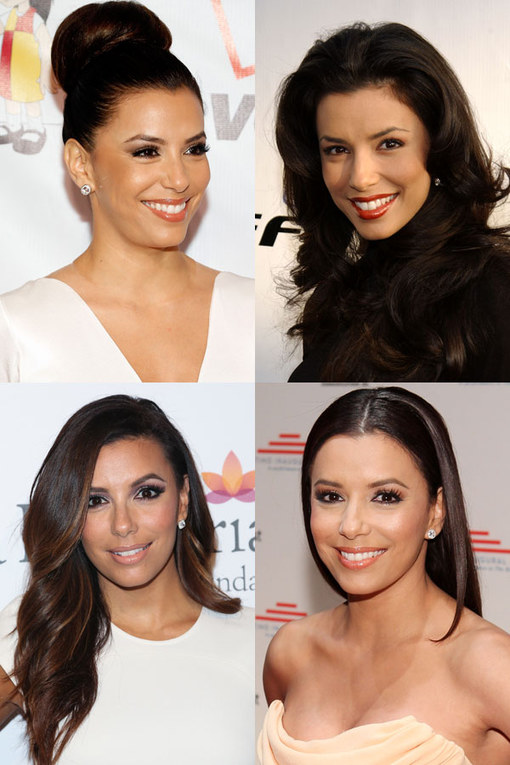 Eva Longoria hair: Brunette beauty