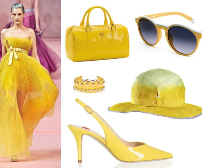 Tendenza colore giallo: scopri abiti e accessori gialli