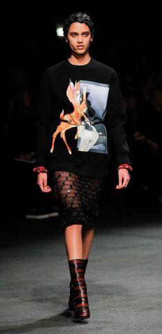 Givenchy, défilé enflammé