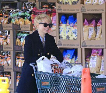 Foto/ Michelle Williams, una diva al supermarket