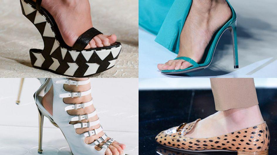 Zapatos de pasarela, ¡pisa fuerte esta primavera!