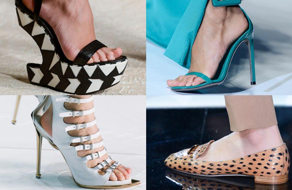 Scarpe di primavera. Scopri le tendenze scarpe dalle sfilate