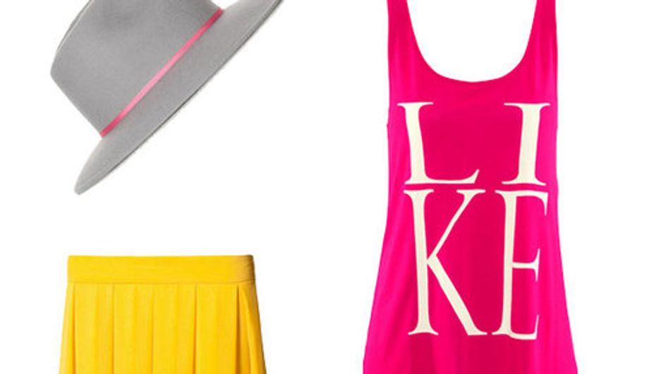 Naughty neons: 50 Fashion finds