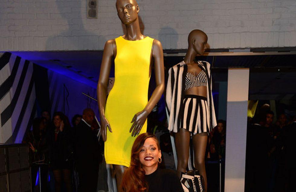 Rihanna presenta su nueva colección para River Island