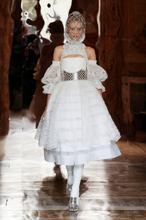 Alexander McQueen Paris Fashion Week autunno/ inverno 2013 - 2014