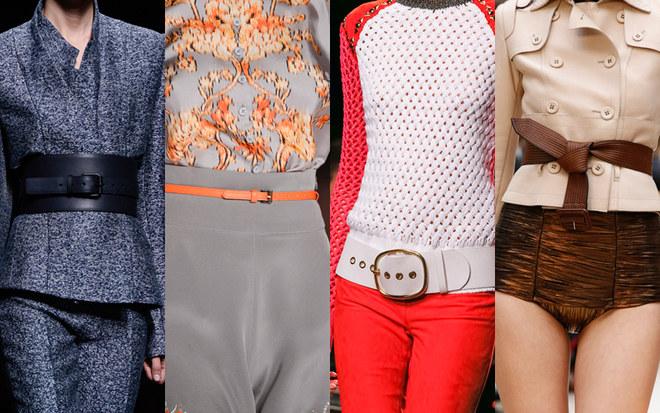 La tendenza cinture della primavera estate 2013 secondo le sfilate di moda