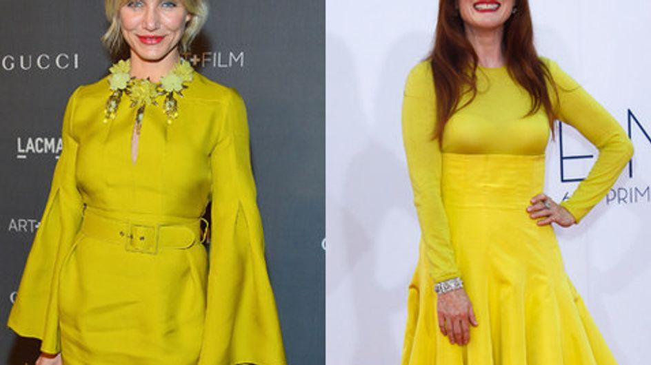 Il nuovo look delle star per la primavera? È giallo!