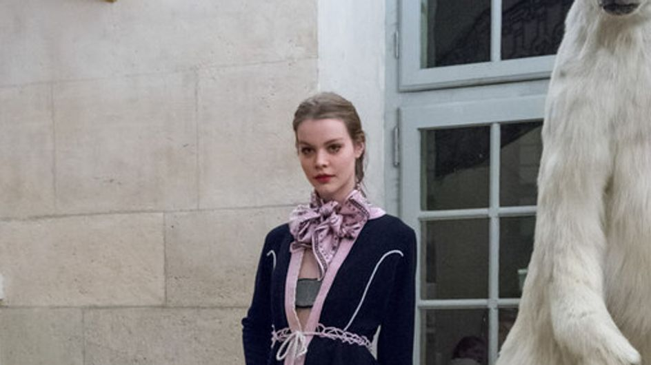 Olympia Le-Tan, bavaroise chic