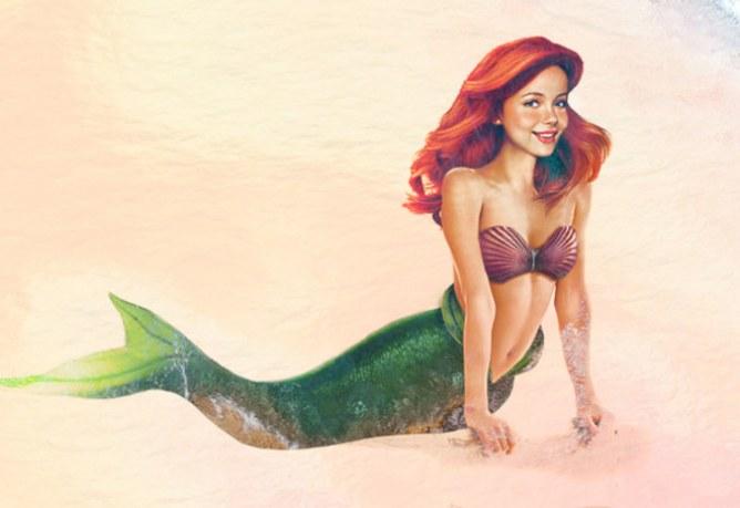 """Ariel de """"La Sirenita"""""""