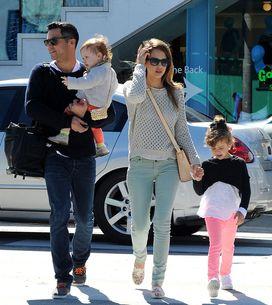 Jessica Alba, mamma romantica a L.A.