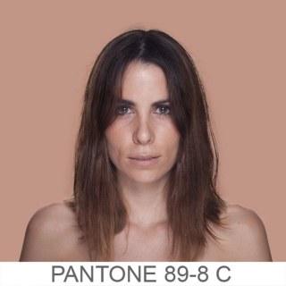 I colori della pelle secondo Pantone