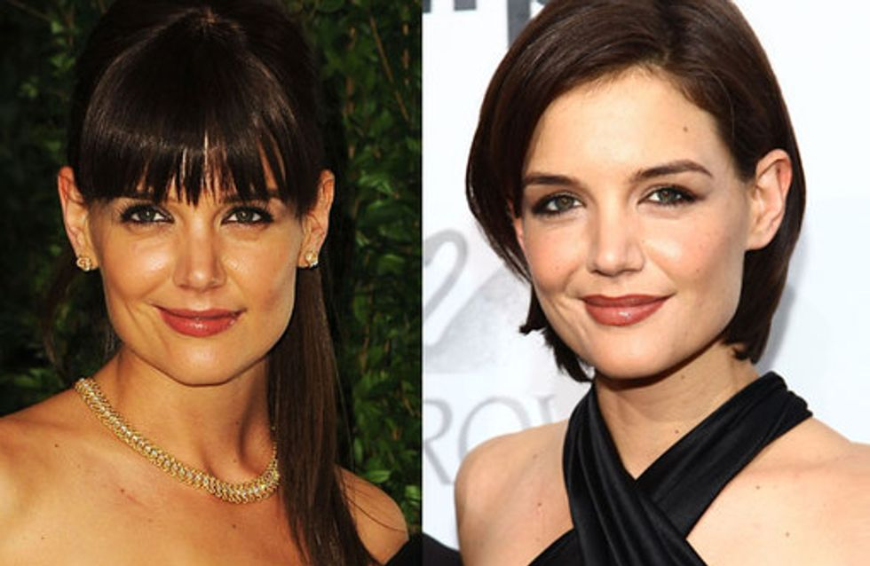Katie Holmes hair: Our beauty crush
