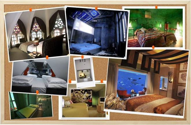 ¡Los hoteles más originales del mundo!
